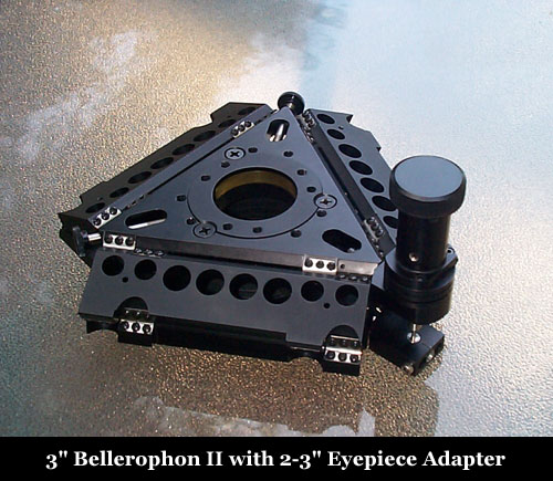 "Bellerophon II with 2"" - 3"" Eyepiece Adapter"
