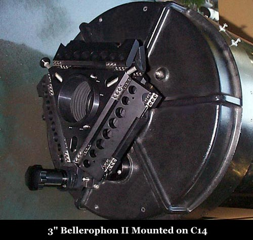 Bellerophon II on C14 showing Inline Adapter